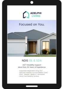 Adelphi Living Ebook Tablet