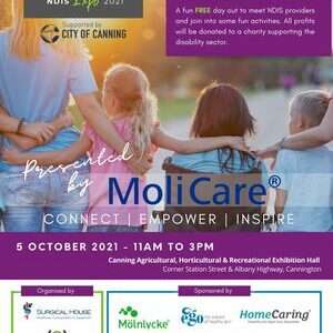 Live your potential NDIS expo 2021