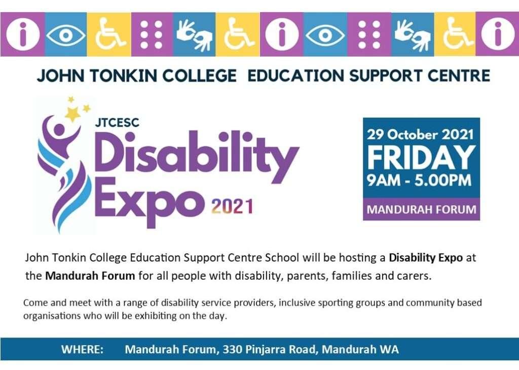 JTCESC Disability Expo 2021